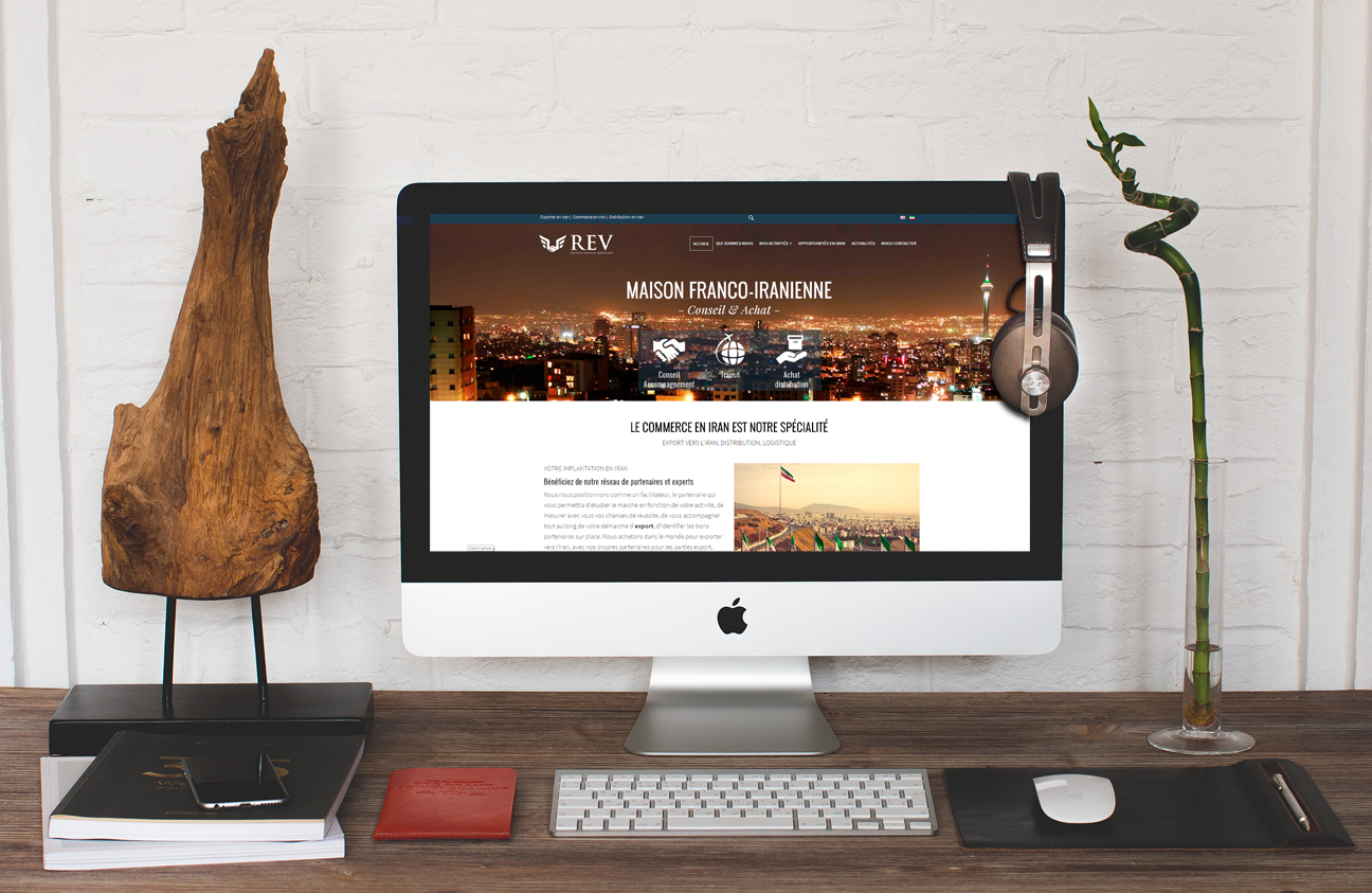 Site internet REV IRAN