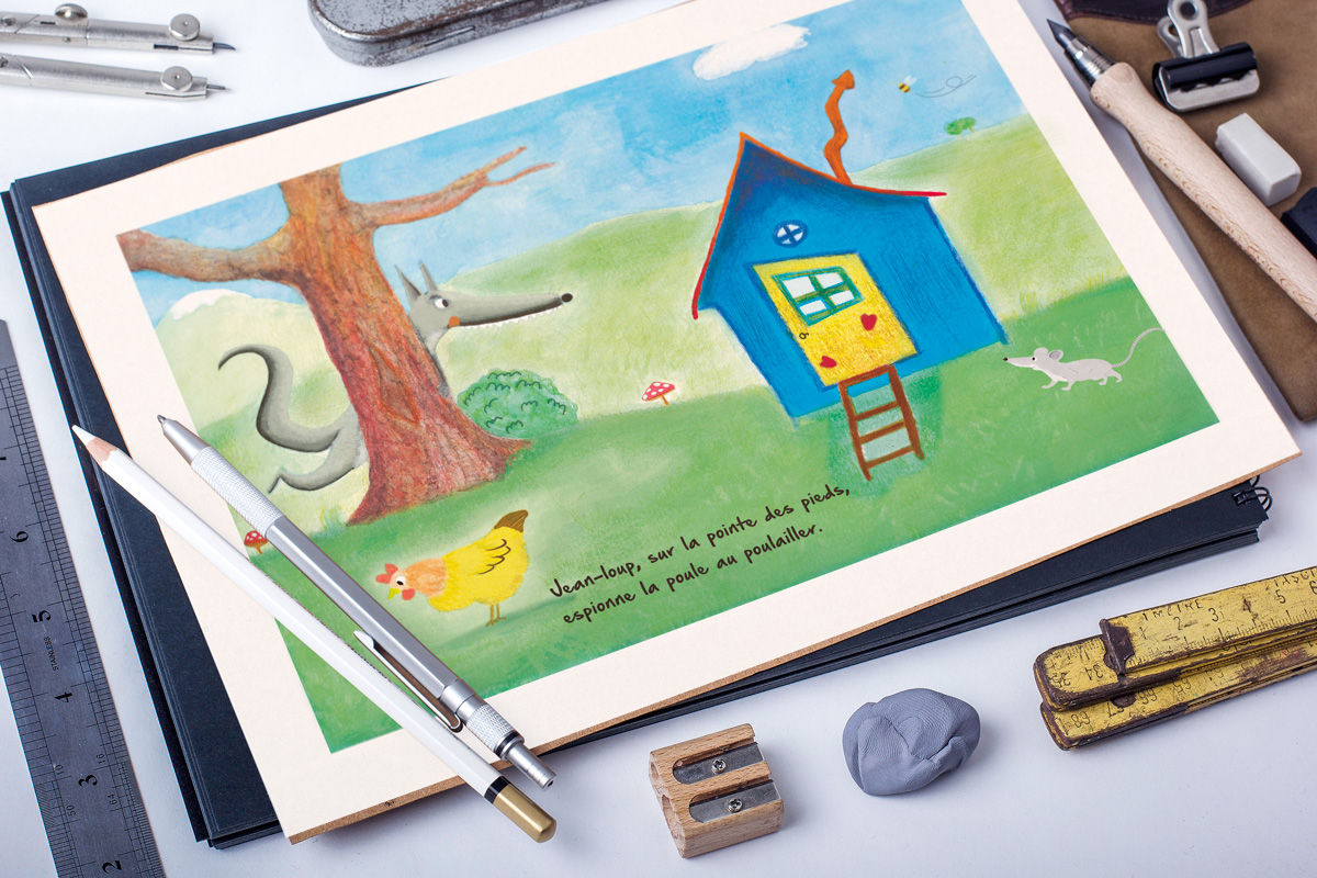 Illustration jeunesse Jean-Loup