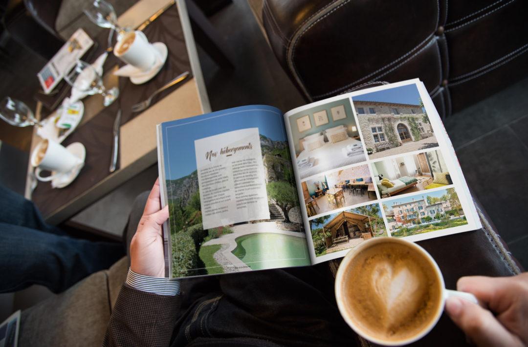 communication brochure office du tourisme drôme